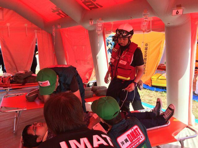 災害時の医療チーム:DMAT