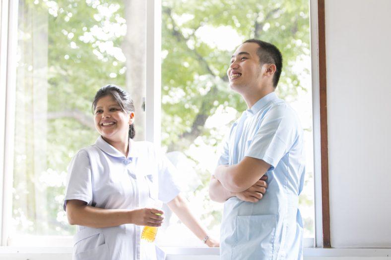 看護助手インタビュー #01  留学生・外国人