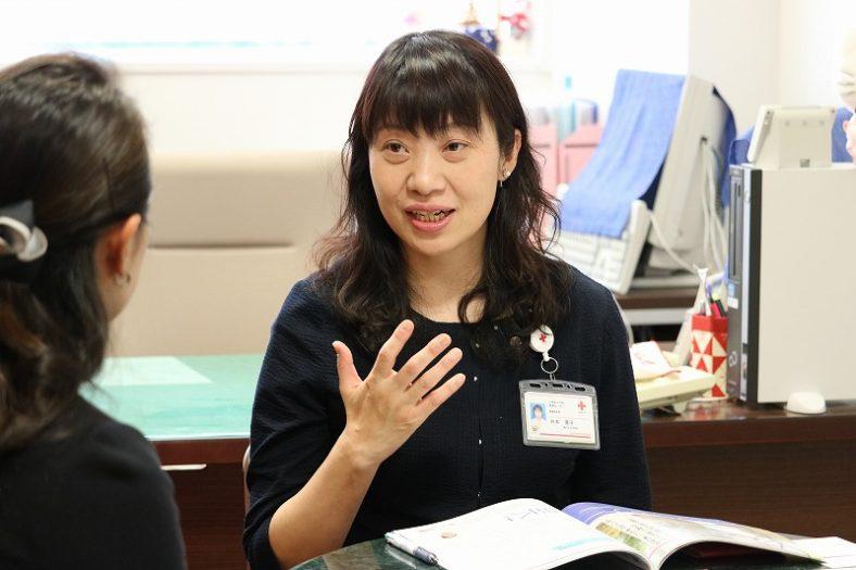 井本寛子様(日本赤十字社医療センター)「あなたのままで、目の前の一歩を全力で努めること」
