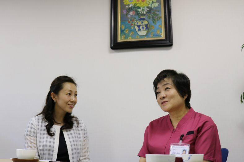 青柳明子様(北里大学メディカルセンター)「看護は私で進化する」