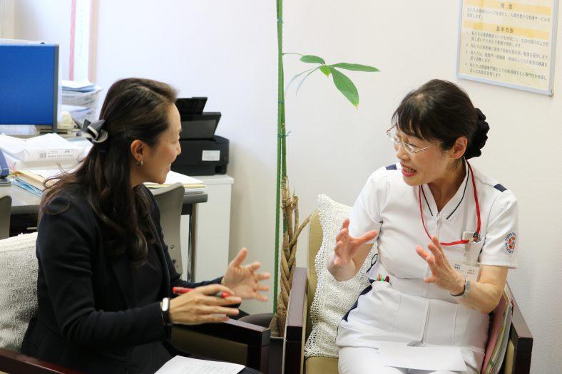 樋口幸子様(東京都済生会中央病院)「看護師をどう支えてるか、それを考えるのが管理職」