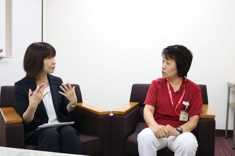 No.38 原陽子様(東松山市立市民病院)前編「看護師に向いている確信を得て」