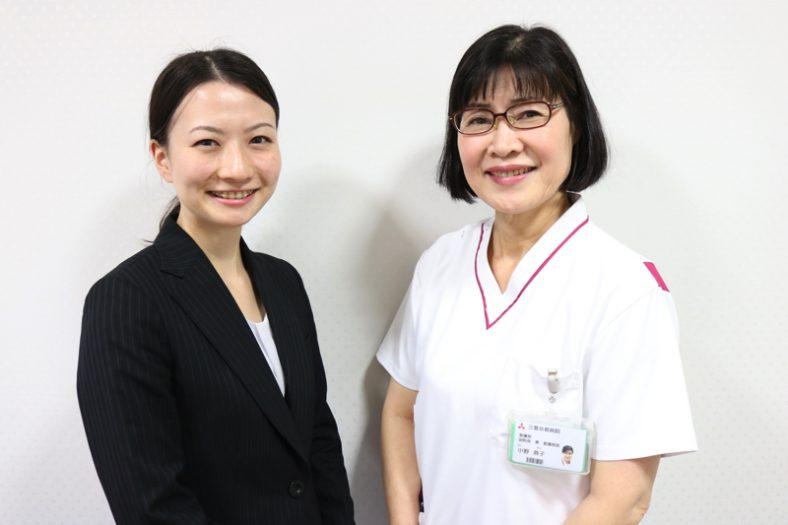 No.97小野典子様(三菱京都病院)前編:看護師になるきっかけは、母のような存在の姉