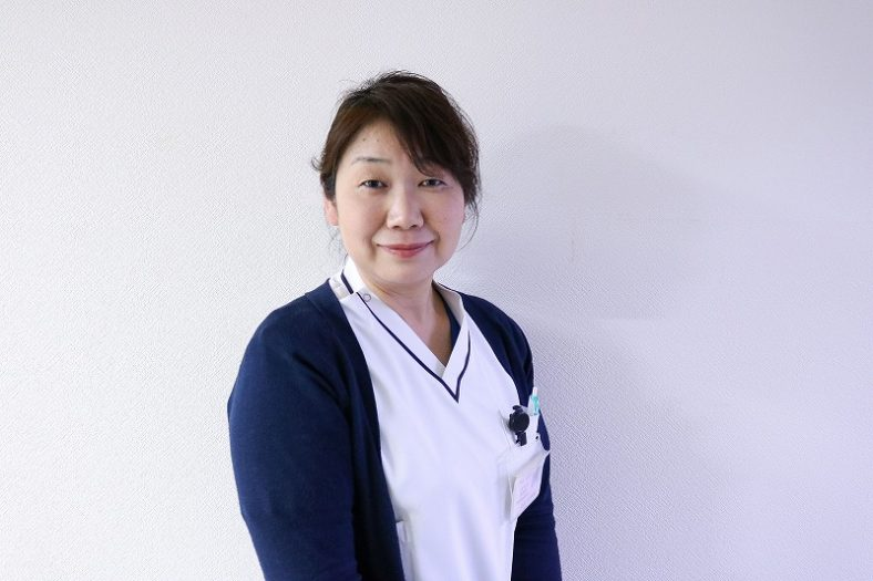 No.123 永江 記美湖様(山内病院)前半「看護実習での経験が今の看護につながっている」