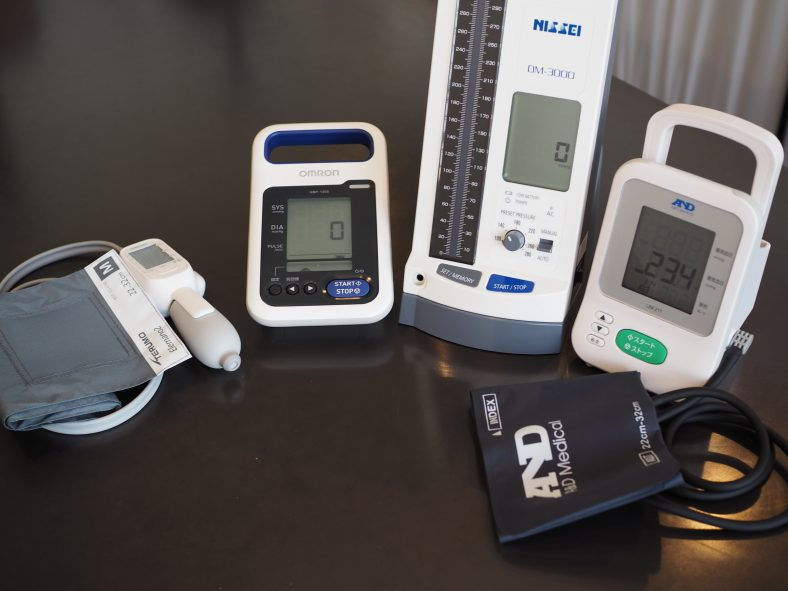 シンカナース中材:電子血圧計徹底検証〜電子血圧計の適材適所〜