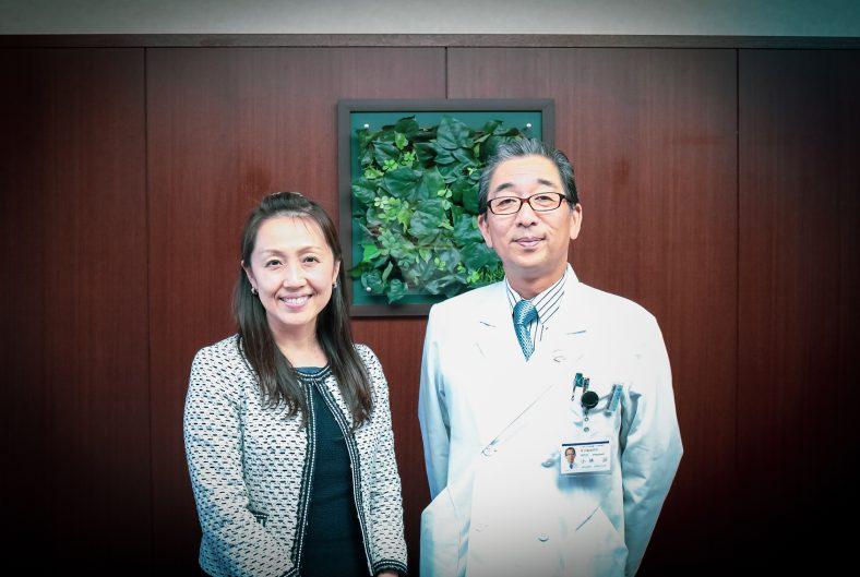 病院長 小林 滋様(東京臨海病院)