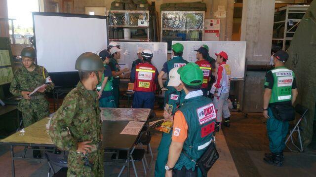 災害時の医療チーム:平時からの他機関との連携