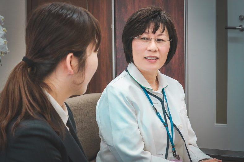 JCHO大阪病院 田中小百合 看護部長