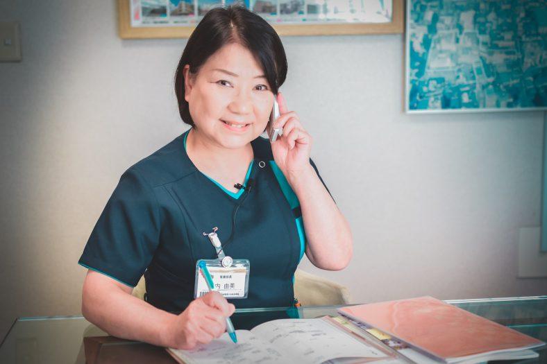 板橋中央総合病院 竹内由美 看護部長