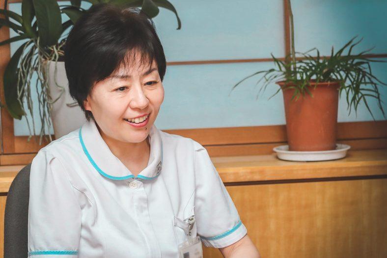 JCHO東京新宿メディカルセンター 野月千春 看護部長